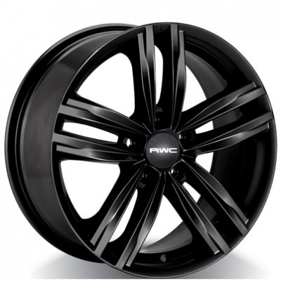 Rwc VW39 Black wheel | 17X7.5, 5x112, 57.1, 45 offset