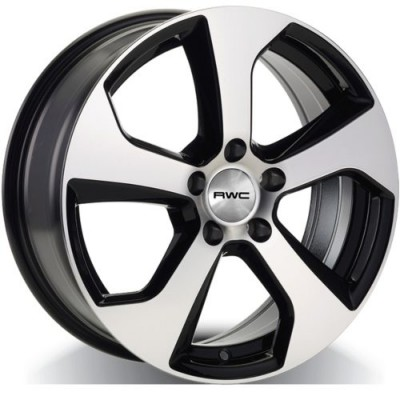 RWC VW76 Machine Black wheel (17X7, 5x112, 57.1, 42 offset)