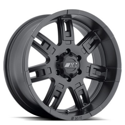 Mickey Thompson SideBiter II Satin Black wheel (15X8, 5x114.3, 130.1, -22 offset)