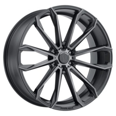 Status Wheels MASTADON Graphite wheel (20X9, 6x139.7, 112.1, 5 offset)