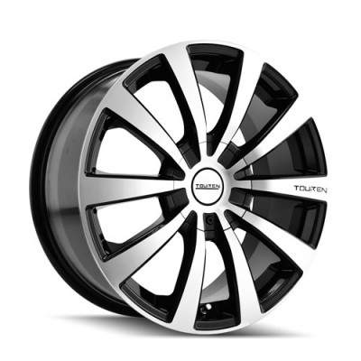Touren TR3 Machine Black wheel (20X8.5, 5x114.3/120, 72.62, 40 offset)