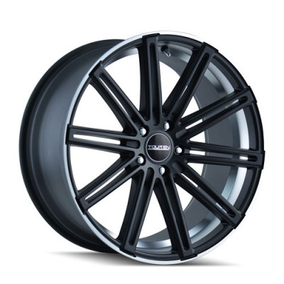 Touren TR40 Matte Black Machine Lip wheel (22X8.5, 5x120, 74.1, 35 offset)