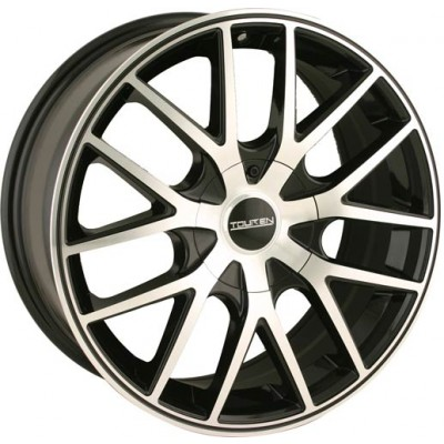 Touren TR60 Machine Black wheel (20X8.5, 5x114.3/120, 74.1, 20 offset)