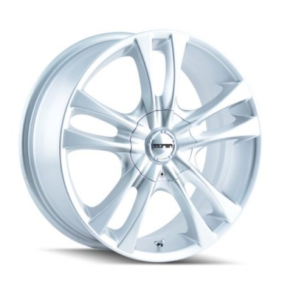 Touren TR22 Hyper Silver wheel (15X7, 4x100/114.3, 67.1, 40 offset)