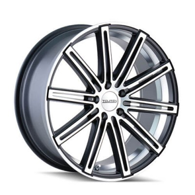 Touren TR40 Matt Black Machine wheel (22X8.5, 5x120, 74.1, 35 offset)