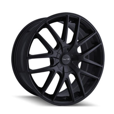 Touren TR60 Matte Black wheel | 17X7.5, 5x112/120, 72.6, 42 offset BLEM