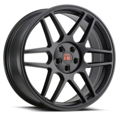 Touren TR74 Matte Black wheel (17X8, 5x100/114.3, 72.6, 40 offset)