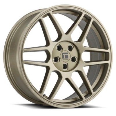 Touren TR74 Matte Gold wheel (17X8, 5x100/114.3, 72.6, 40 offset)