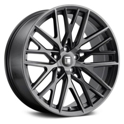 Touren TR91 Matte Black wheel (18X8, 5x108, 63.5, 35 offset)