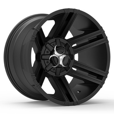TOXIC AVENGER Black wheel (20X10, 5x127/135, 87.1, -25 offset)