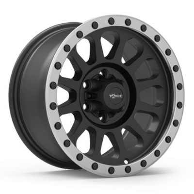 TOXIC EPIDEMIC Machine Black wheel (15X8, 5x114.3, 108, -10 offset)