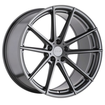 TSW Wheels BATHURST Gun Metal wheel (17X8, 5x100, 72.1, 35 offset)