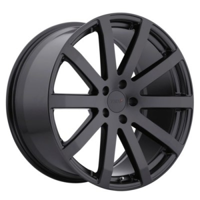 TSW Wheels BROOKLANDS Matte Black wheel (17X8, 5x100, 72, 35 offset)