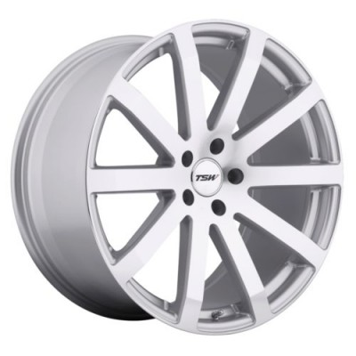 TSW Wheels BROOKLANDS Silver wheel (17X8, 5x100, 72, 35 offset)