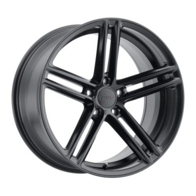 TSW Wheels CHAPELLE Matte Black wheel (17X8, 5x108, 72.1, 40 offset)