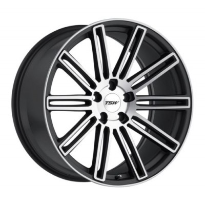 TSW Wheels CROWTHORNE Matte Gun Metal wheel (17X8, 5x100, 72.1, 35 offset)