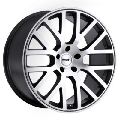 TSW Wheels DONINGTON Machine Gunmetal wheel (17X8, 5x100, 72, 32 offset)