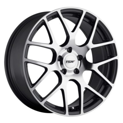 TSW Wheels NURBURGRING Machine Gunmetal wheel (17X7.5, 5x114.3, 76, 45 offset)