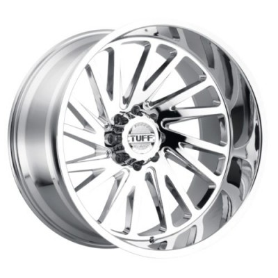 Tuff Wheels T2A Chrome wheel (20X12, 5x127, 71.6, -45 offset)