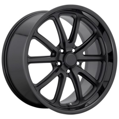 US MAG RAMBLER Matte Black wheel (18.00X8.00, 5x120.65, 72.6, 1 offset)