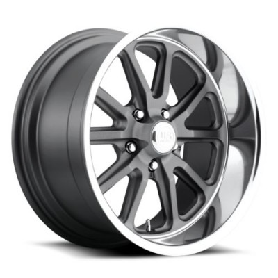 US MAG Rambler U111 Machine Gunmetal wheel (15X8, 5x120.7, 72.6, 1 offset)