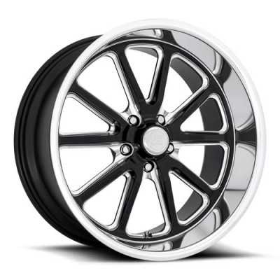 US MAG Rambler U117 Machine Black wheel (18X8, 5x120.7, 72.6, 1 offset)