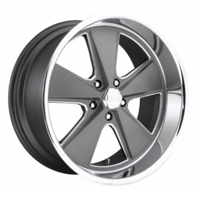 US MAG Roadster U120 Machine Gunmetal wheel (17X8, 5x120.7, 72.6, 1 offset)