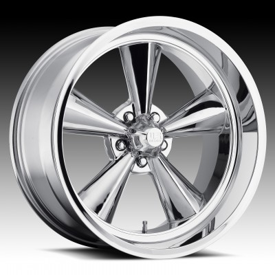 US MAG Standard U104 Chrome wheel (15X7, 5x120.7, 72.6, -6 offset)