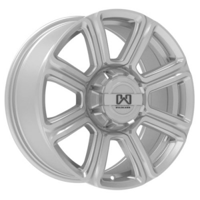 Wildland Hurricane Silver wheel (17X8, 6x120/139.7, 93.1, 40 offset)
