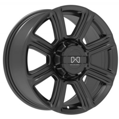 Wildland Hurricane Gloss Black wheel (17X8, 6x120/139.7, 93.1, 40 offset)
