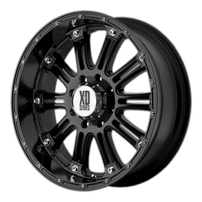 KMC Wheels Hoss Gloss Black wheel (17X9, 6x135, 87.1, 18 offset)