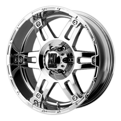 KMC Wheels Spy Chrome wheel (18X9, 8x165.1, 125.5, -12 offset)