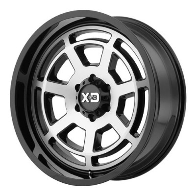KMC Wheels XD824 Gloss Black Machine wheel (20X9, 6x135, 87.1, 0 offset)