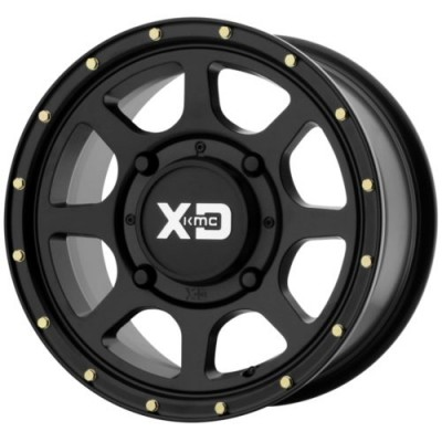XD ATV ADDICT 2 Satin Black wheel (15X6, 4x137, 112, 38 offset)