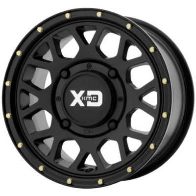 XD ATV GRENADE Satin Black wheel (15X6, 4x137, 112, 38 offset)