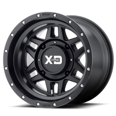 XD ATV XS128 MACHETE Satin Black wheel (14X7, 4x110, 86.00, -47 offset)