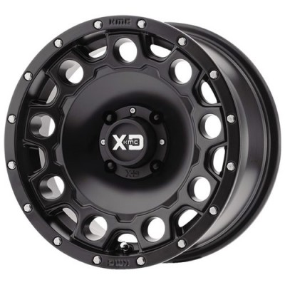 XD ATV XS129 HOLESHOT Satin Black wheel (15X7, 4x156, 132.00, 10 offset)