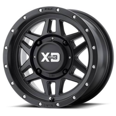 XD ATV XS228 MACHETE Satin Black wheel (14X7, 4x115, 86.00, 10 offset)