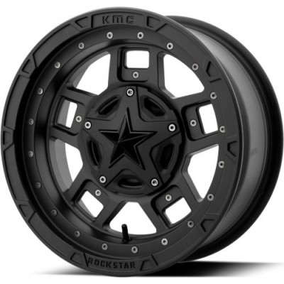 XD ATV XS827 RS3 Matte Black wheel (18X7, 4x156, 132.00, 0 offset)