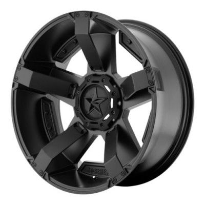 XD Series by KMC Wheels RS2 Matte Black wheel (20X9, 8x165.1, 130.81, 0 offset)