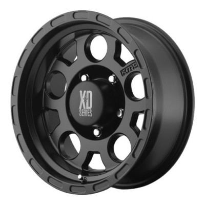 XD Series by KMC Wheels XD122 ENDURO Matte Black wheel (15X7, 5x114.3, 83.06, -6 offset)