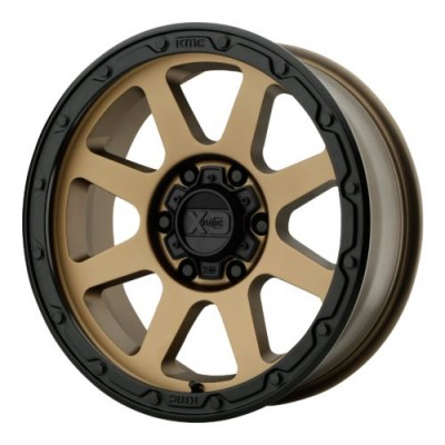 XD Series by KMC Wheels XD134 ADDICT 2 Matte Bronze wheel (17X9, 5x127, 71.50, 18 offset)