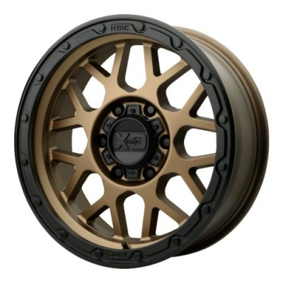 XD Series by KMC Wheels XD135 GRENADE OR Matte Bronze wheel (20X9, 5x127, 71.50, 18 offset)