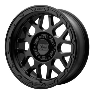XD Series by KMC Wheels XD135 GRENADE OR Matte Black wheel (20X9, 5x127, 71.50, 18 offset)