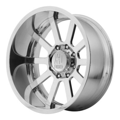 XD Series by KMC Wheels XD401 DAISY CUTTER Polished wheel (22X12, , 72.60, 0 offset)