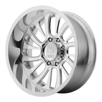 XD Series by KMC Wheels XD404 SURGE Polished wheel (22X12, , 72.60, 0 offset)
