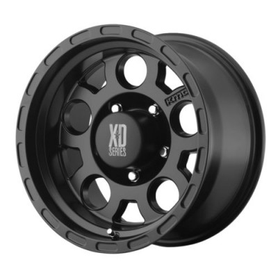 XD Series XD122 ENDURO Matte Black wheel (15X9, 5x127, 83.5, -12 offset)