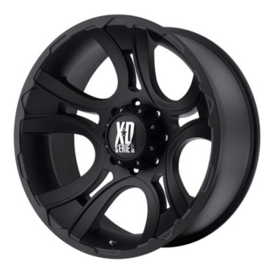 XD Series XD801 CRANK Matte Black wheel (18X9, 5x150.00, 110.5, 0 offset)