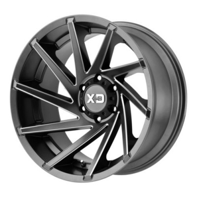 XD Series XD834 CYCLONE Satin Grey wheel (18X9, 6x139.70, 106.25, 0 offset)