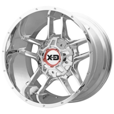 XD Series XD839 CLAMP Chrome wheel (20X9, 6x114.30/139.70, 93.1, 18 offset)